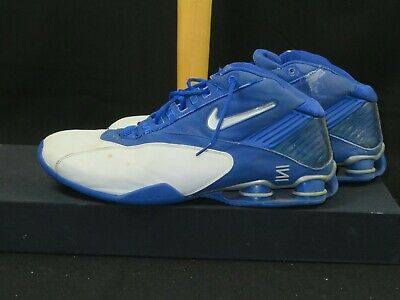 size 40 1d007 2f163 Nike Brand SHOX Kansas Basketball Game Used Basketball Shoes Worn by JR  Giddens