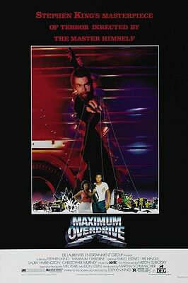Maximum Overdrive movie poster : Stephen King  : 11 x 17 inches