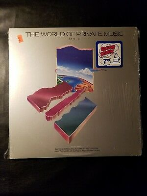 The World Of Private Music LP SEALED NEW ! VERY  RARE!
