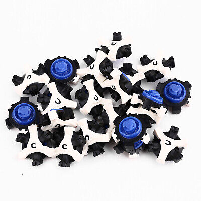 56Pcs Golf Shoe Spikes Replacement Champ Cleat Fast Twist Tri-Lok For Foot Joy
