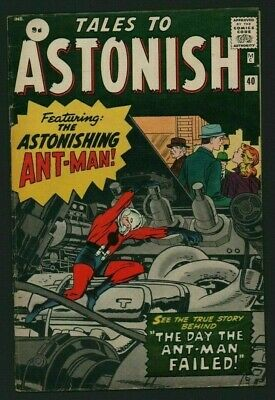 Tales To Astonish #40 (1963) Featuring ANT-MAN Stan Lee / Kirby