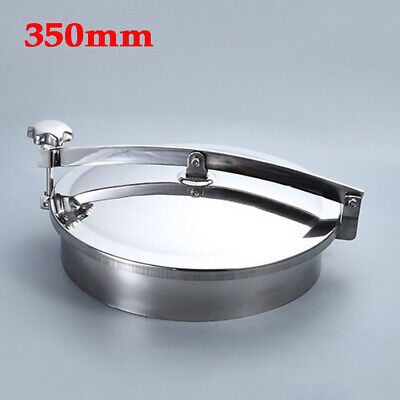 S304 Stainless Oval Manway Tank Door Manhole Cover For Large Tanks/Containers