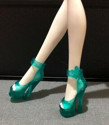 Monster High Doll Shoes Green Shoes Rochelle Goyle Swim Class