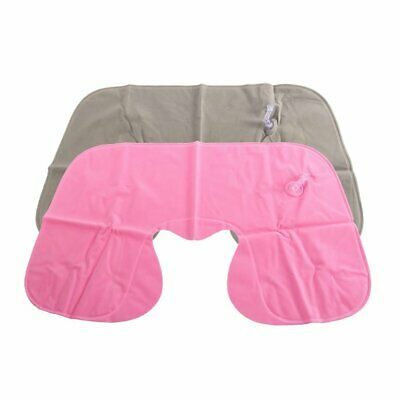 Inflatable Pillow Air Cushion Neck Rest U-Shaped Compact Plane Flight Travel Z1