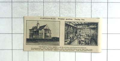 1935 Five Bed Gentlemen's House In Cliftonville Facing The Sea For Sale