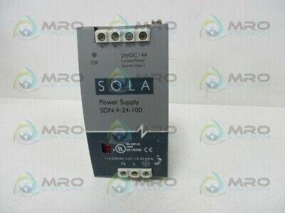 Sola Sdn-4-24-100 Power Supply * Used *