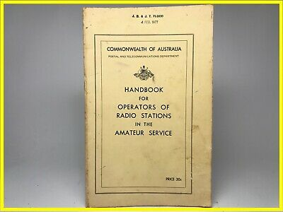 Collectors Handbook For Operators Of Radio Stations In The Amateur Service 1976