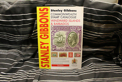 Stanley Gibbons Commonwealth Stamp Catalogue Windward Islands Barbados 2nd Edit