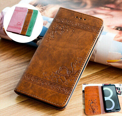 Luxury Leather Magnetic Flip Wallet Case Cover for iPhone 7 8 6 Plus XS Max 5 SE