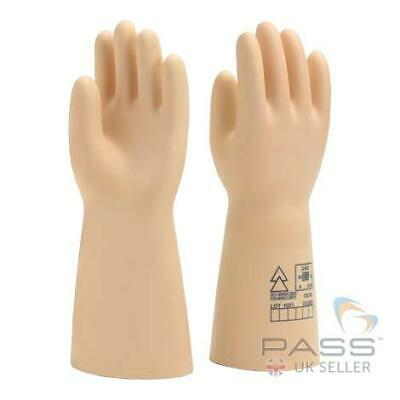 Class 4 High Voltage Insulating Gloves 36 000 V Size 10