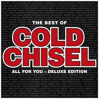 Cold Chisel- All For You: The Best Of Cold Chisel CD (DLX)-Brand New/Still se...