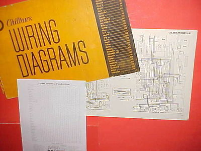 1960 1961 1962 1963 1964 1965 Oldsmobile 98 Super 88 Starfire Wiring Diagrams