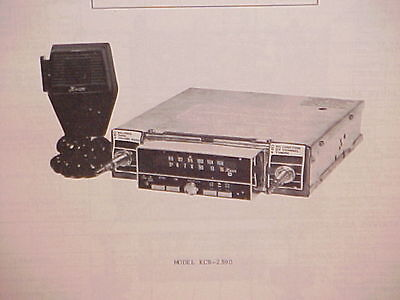 1977 kraco cb/8-track tape player/am-fm radio service shop
