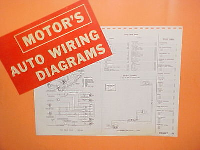 1961 1962 1963 1964 1965 mercury comet s-22 convertible cyclone wiring  diagrams