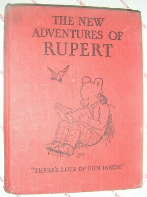 The New Adventures Of Rupert (The Bear) 1936 First Annual