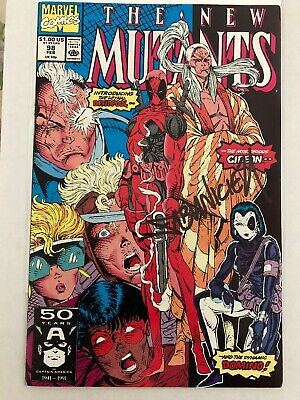 New Mutants #98 (First Appearance Of Deadpool) Signed By Fabian N