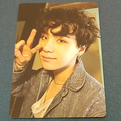 Suga - BTS Army Bomb ver 3 Lightstick Official Photocard Kpop