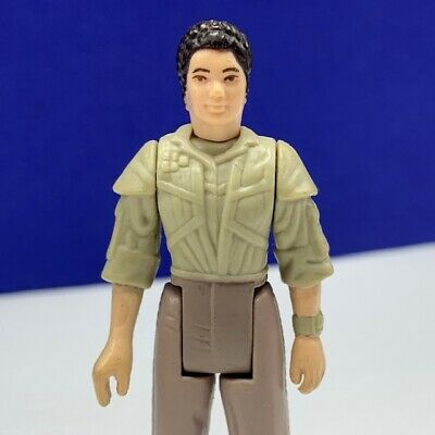 Star Wars action figure toy vintage Kenner 1984 Princess Leia Organa endor coin