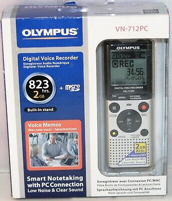 New Olympus Digital Voice Recorder  VN 712PC