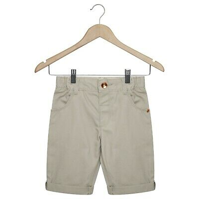 Baby & Toddler Boys Chino Shorts Holiday Casual Adjustable Waistband Navy Beige