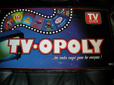 TV-opoly Monopoly board game put out by TV Guide