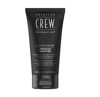 American Crew Precision Shave Gel - 150ml Non Drying Prevents Shaving Irritation