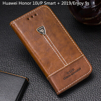 For Huawei Honor 10i Flip Case Leather Wallet Cover For P Smart + 2019 Enjoy 9s