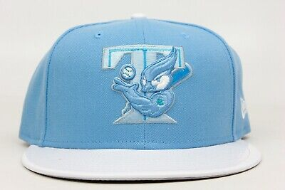 Toronto Blue Jays Sky White Patent Leather Jordan 11 MLB New Era 59Fifty Hat Cap