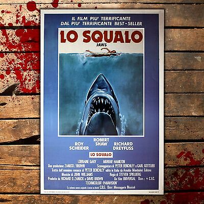 Poster Film Lo Shark, the Jaws - Format: 35x50 Cm