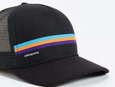 8676afeef13 PATAGONIA MENS - Fitz Roy Frostbite Trucker Hat Cap - White   Roots ...