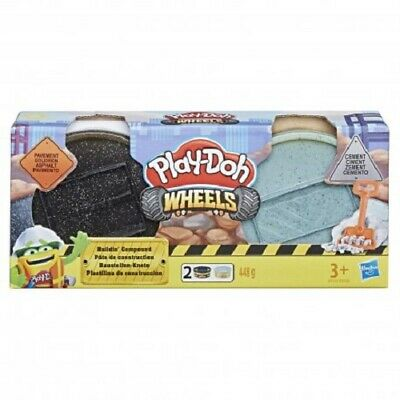 Hasbro - Play-Doh Building Compound Set: Pavement & Cement - New