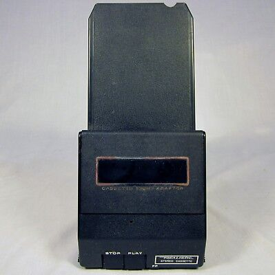 Vintage Realistic 8 Track to Cassette Adapter Radio Shack 12-1875A Tested WORKS