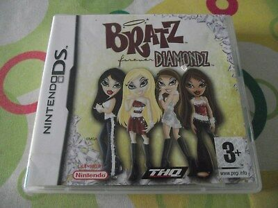 Nintendo Ds Game - Bratz Forever Diamonds - With Case Booklets Cartridge