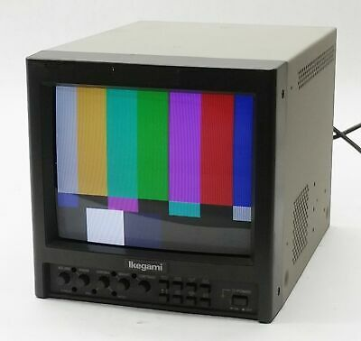 "Ikegami Tm9-1 9"" Professional Broadcast Retro Gaming Color Crt Video Monitor"