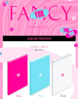 Twice Fancy You 7Th Mini Album (Select Album+/- Poster Option) [Kpoppin Usa] Jyp