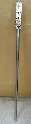 """Snap-On 1000 FT LB TorqoMeter Torque Wrench - 1"""" drive - mdl 1003-L"""