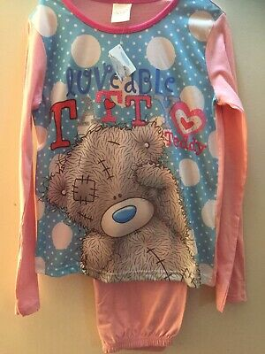 Tatty Ted Loveable Pink And Blue Age 9-10 Years
