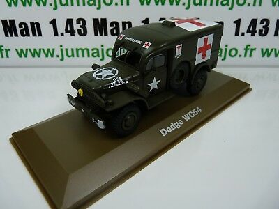 BL31H atlas IXO 1/43 Blindés WW2 : Dodge WC54 croix rouge ambulance red cross