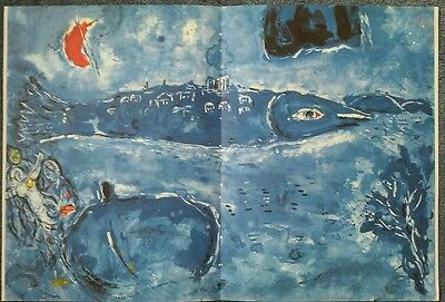 Marc Chagall,The Ballet,Second Act Curtain, Offset Lithograph1969, Mourlot,