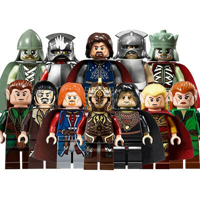 Action Figures Building Blocks Lord Of The Rings New Toys 2019 TV Movie Hobbies