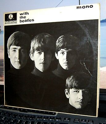 """The Beatles.  """"With The Beatles""""  Parlophone Uk 1963 Lp. Mono."""
