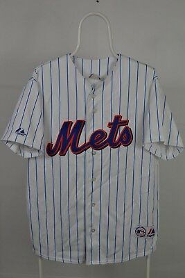 Majestic Athletic MLB New York Mets Cool Base Home Jersey L LARGE