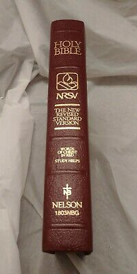Holy Bible - Revised Standard Version Bonded Leather Nelson 1803 Nbg