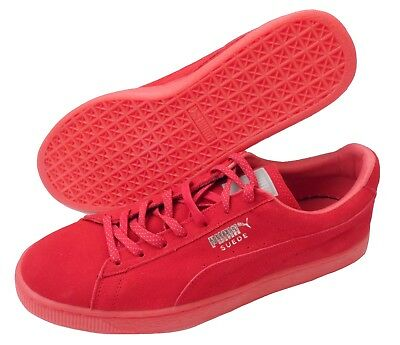 Schuhe Sneaker Suede Classic Mono Ref Iced in rot