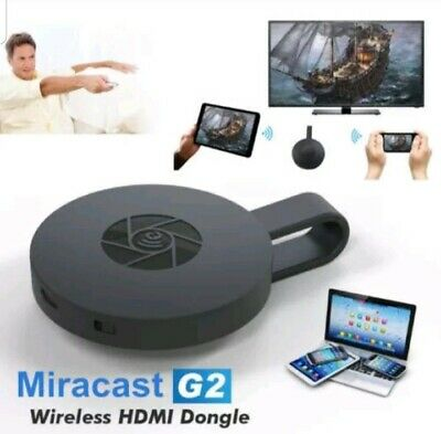 Chromecast  Mirascreen G2 Video Hdmi Streaming Media Player Wireless