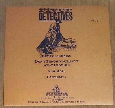 """THE RIVER DETECTIVES - Hey You! Chains ~10"""" Vinyl Single~"""