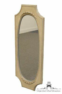 High End French Provincial 17x44 Wall Mirror