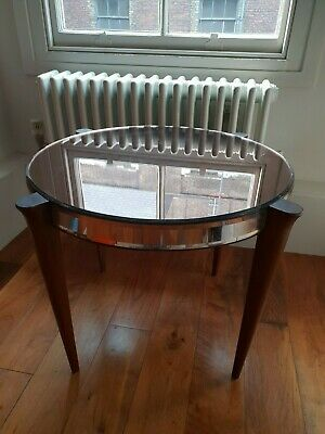 Antique Art Deco 1930's Biba Style mirrored table