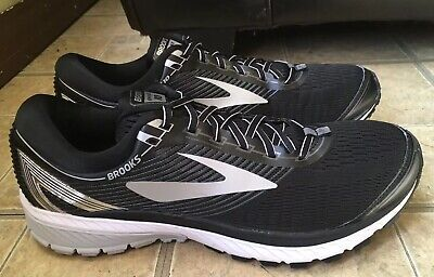 9d6365975738a MEN S BROOKS GHOST 10 Running Shoes Sneakers Size 8.5D Gray Black ...