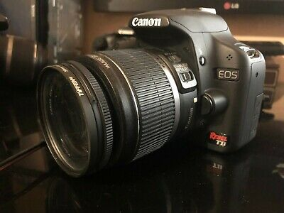 "Canon EOS Rebel T1i 15.1 MP Digital SLR Camera, 3"" LCD EF-S 18-55mm LENS"